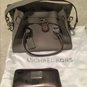 Michael Kira satchel and wallet